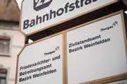 Das Zivilstandsamt in Weinfelden wird aufgehoben. (Bild: Thi My Lien Nguyen)