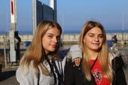 Nina und Léonie Schneider aus St.Margrethen