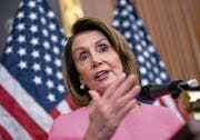 US-Demokratin Nancy Pelosi. Bild: J. Scott Applewhite/AP
