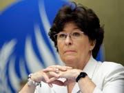 Die Uno-Sonderbeauftragte für Internationale Migration, Louise Arbour, kann die Argumente der Länder nicht verstehen, die den Uno-Migrationspakt nicht mittragen. (Bild: KEYSTONE/MARTIAL TREZZINI)