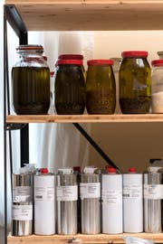 Für die Herstellung eines Balsams braucht es einige Zutaten. (Bild: Thomas Hary)