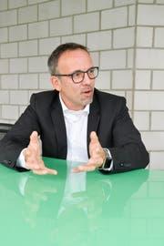 Thomas Bosshard, Kandidat für das Erler Gemeindepräsidium.