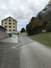 Die Zufahrt zum Sektionshaus im heutigen Zustand. (Bild: pd)