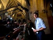 «Wir entschuldigen uns für die Herzlosigkeit»: Kanadas Premierminister Justin Trudeau. (Bild: KEYSTONE/AP The Canadian Press/SEAN KILPATRICK)