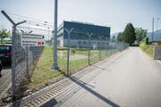 Das heutige Regionalgefängnis im Gebiet Hädler südlich von Altstätten. (Bild: Urs Bucher)