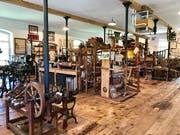 Die nachempfundene «Museumsfabrik» zeigt auf über 900 Quadratmetern Exponate aus der Zeit desindustriellen Aufbruchs. (Bild: Andrea Häusler)