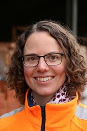 Lynn Burkhard, Bauführerin bei der Stutz AG. (Bild: Hana Mauder)