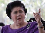 Die 89-jährige Ex-First Lady Imelda Marcos und ihr Ehemann sollen auf Schweizer Konten 200 Millionen Dollar versteckt haben. (Bild: Keystone/EPA/FRANCIS R. MALASIG)