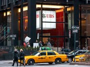 Die UBS-Filiale an der Park Avenue in New York. (Bild: KEYSTONE/MARTIN RUETSCHI)