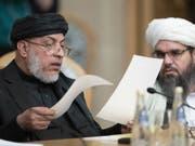 An der Afghanistan-Konferenz in Moskau nehmen erstmals auch die Taliban teil. (Bild: Keystone/AP/PAVEL GOLOVKIN)