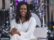 Michelle Obama nimmt anlässlich des internationalen Tages der Mädchen an der «Today»-Show des US-Senders NBC teil. (Bild: Keystone/AP Invision/CHARLES SYKES)