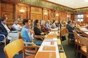 Die Verfassungskommission arbeitet sowohl in Arbeitsgruppen als auch im Plenum. (Bild: Erich Brassel)