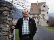 Max Aschwanden bei seinem Amtsantritt als Gemeindepräsident 2011. Nun wurde er nach insgesamt 14 Jahren im Gemeinderat verabschiedet. (Bild: Urs Hanhart, Januar 2011)