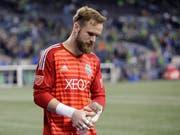 Enttäuschung bei Stefan Frei nach dem verlorenen Penaltyschiessen und dem Ausscheiden aus den Playoffs (Bild: KEYSTONE/AP/TED S. WARREN)