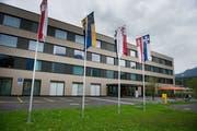 Das Kantonsspital sorgt für Diskussionen. (Bild: Corinne Glanzmann, Sarnen, 20. August 2014)