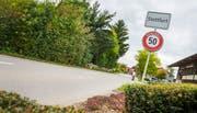 Die Dorfeinfahrt von Stettfurt. (Bild: Andrea Stalder)