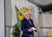Thomas Held, ehemaliger Direktor von Avenir Suisse, referiert am Eschliker Industrie- und Gewerbeapéro.