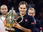 Roger Federer gewann in Basel seinen 99. Titel auf der ATP-Tour (Bild: KEYSTONE/GEORGIOS KEFALAS)