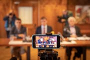 Medienkonferenz zur Nachfolge Restaurant Aescher. (Bild: Urs Bucher)