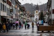 Der frühzeitige Abbruch des Weihnachtsmarktes in Willisau sorgt für Umsatzeinbussen. (Bild: Nadia Schärli, 9. Dezember 2018)