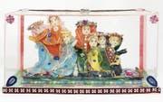 Pya Hug gestaltete «Die 7 Klugen» 1985 aus Wachs und diversen Materialien. (Bild: Museum im Lagerhaus)