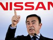 Die Staatsanwaltschaft hat Medienberichten zufolge gegen den Autokonzern Nissan und dessen Chef Carlos Ghosn Anklage erhoben. (Bild: KEYSTONE/AP/KOJI SASAHARA)