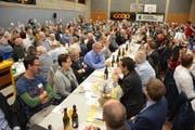 Insgesamt 324 Personen besuchten die 20. Abgeordnetenversammlung des Thurgauer Turnverbandes. (Bild: Monika Wick)