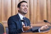 Will die Revision des Aktienrechts vor dem Untergang bewahren: Ständerat Andrea Caroni. (KEYSTONE/Alessandro della Valle)