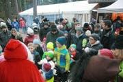 Mehr als 120 Kinder erhielten vom Samichlaus ein Säckli.