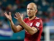 Arjen Robben spielt seit 2009 im Dress von Bayern München (Bild: KEYSTONE/AP/LYNNE SLADKY)