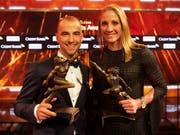 Nino Schurter und Daniela Ryf heissen der Sportler und die Sportlerin des Jahres 2018 (Bild: KEYSTONE/MELANIE DUCHENE)