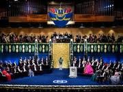 Die Übergabe der Nobelpreise fand am Montag in Stockholm statt. EPA/PONTUS LUNDAHL SWEDEN OUT (Bild: KEYSTONE/EPA TT NEWS AGENCY/PONTUS LUNDAHL)