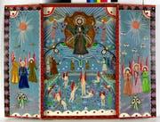 Triptychon mit Jungbrunnen von Pya Hug.