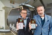 Jörg Rust (links) und Oliver Etter haben mit ihrem Team «Maydaymax» entwickelt.