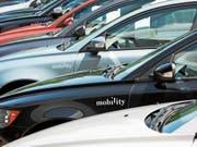 Mobility vergrössert mit dem Auto Gewerbeverband Schweiz die Flotte der Carsharing-Fahrzeuge. (Bild: PD)