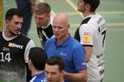 Amriswils Trainer Marko Klok formte aus zahlreichen neuen Spielern rasch ein funktionierendes Kollektiv. (Bild: Mario Gaccioli, Jona, 13. Oktober 2018)
