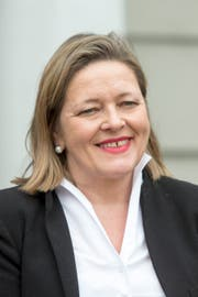 Justizdirektorin Heidi Z'graggen: «Wir befinden uns in einer gewissen Schwebe, können es aber wagen, 2020 nochmals nach dem alten System zu wählen.»