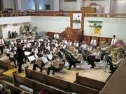 Feiner Klang und höchste Qualität: Konzert des Musikvereins Buchs-Räfis und der Jugendmusik. (Bild: Werner Vetsch)