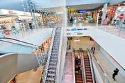 Die Mall des Einkaufszentrums Amriville. (Bild: Donato Caspari)
