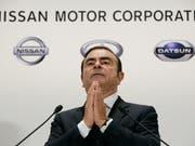 Ex-Nissan-Chef Carlos Ghosn ist vor einem japanischen Gericht mit einer Beschwerde gegen seine Untersuchungshaft gescheitert. (Bild: KEYSTONE/EPA/KIMIMASA MAYAMA)