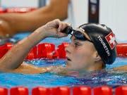 Schweizer Rekord mit der Schweizer Lagen-Staffel: Schwimmerin Sasha Touretski (Bild: KEYSTONE/EPA/PATRICK B. KRAEMER)