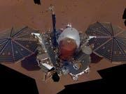 Die Mars-Sonde InSight hat ihr erstes Selfie vom Mars geschickt. (Bild: NASA/JPL-Caltech)