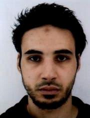 Das veröffentlichte Fahndungsfoto von Chérif Chekatt. (Französische Polizei)