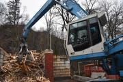 Private Entsorger wie die Kuster Recycling AG fürchten, dass sich die öffentliche Hand vermehrt ihre Kunden krallt. (Bild: Timon Kobelt)