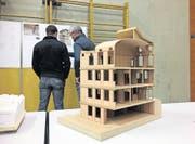 Im kommenden Frühjahr werden die Urnäscher über das Neubauprojekt Gemeindekanzlei abstimmen können. (Bild: BEI)