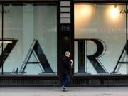 Zara-Mutterkonzern Inditex steigert Gewinn. (Bild: KEYSTONE/STEFFEN SCHMIDT)