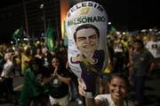 Jair Bolsonaro wird zum Präsidenten des grössten Lateinamerikanischen Landes gewählt. (Bild: AP/Eraldo Peres, 28. Oktober 2018)