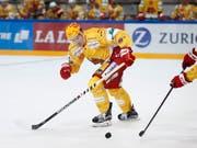 Damien Brunner zeigt bislang eine starke Saison (Bild: KEYSTONE/PETER KLAUNZER)