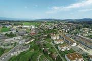 In Wittenbach gibt es verhältnismässig wenig Arbeitszone. Das ist ein Problem für Firmen, die expandieren wollen. (Bild: Ralph Ribi)