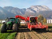Mit der Bestellung einer Erntemaschine nahm 2010 der mehrere Jahre dauernde Prozess seinen Anfang. (Bild: pd)